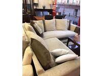 Corner suite brown/beige