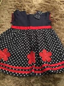 Girls bambini dress 3-6 months