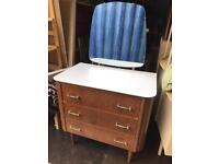 Retro Dressing Table FREE DELIVERY PLYMOUTH AREA