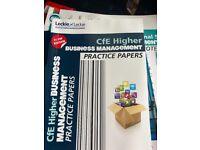 HIGHER BUSINESS PRACTICE PAPER