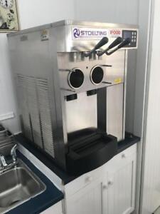 Soft Serve Ice Cream Machine - Counter Top, Twin Twist, Stoelting F131-38