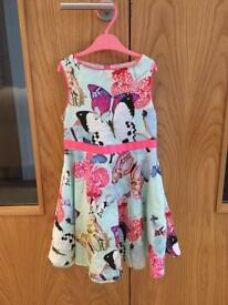 Ted Baker girls dress age 4-5yrs