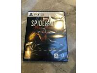 Spider man for PS5