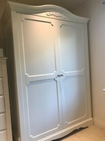 "Next ""Isabella"" large white wardrobe - Excellent condition available now"