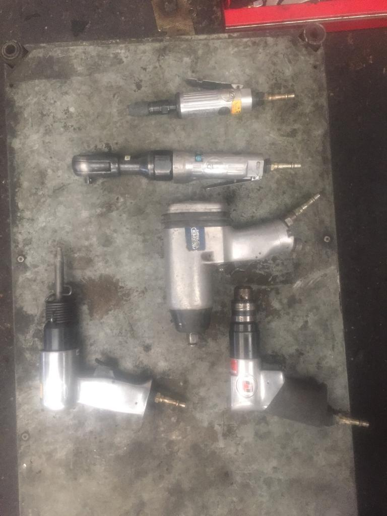 Impact air gun drill and few other ones