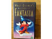 FANTASIA - ORIGINAL DISNEY FILM - VHS VIDEO!