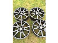 """Skoda vrs 17"""" alloy wheels"""