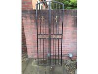 Decorative Iron Arched Gates