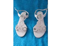 Not worn Bibi Lou Sandals size 38 in nude colour