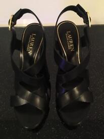 Ralph Lauren FABIA platform heels