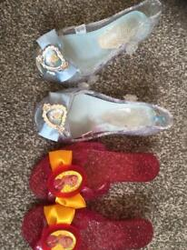 Dress up shoes size 7-8 princess