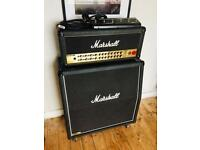 "Marshall Guitar Amp - AVT150h Valvestate2000 DFX Head w/ Footswitch and 1960a 300W 4x12"" Speaker Cab"