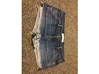 Abercrombie and fitch denim shorts w30
