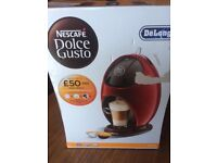 Brand New Delonghi Necafe Coffee Machine For Sale , Never Used, Still Boxed