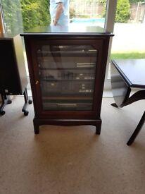 Stag Furniture hifi unit. Excellent condition