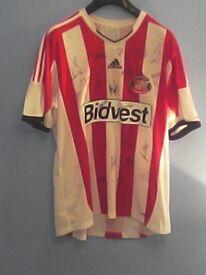 Sunderland signed shirt