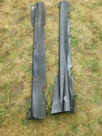 Fiat abarth seicento side skirts