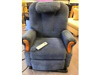 Tilt and stand recliner and massage chair