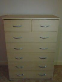 6 DRAWERS* WOOD CHEST OF DRAWERS*