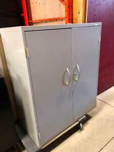 Storage Cabinet with Handles - $125.00