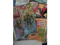 2000ad collection (incomplete) 1986 - 2014, 1000 issues. Varying condition, good price.