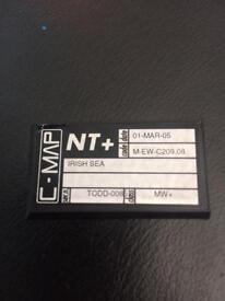 C-MAP NT+ CARD FOR IRISH SEA