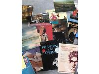 Classical and easy listening LPs