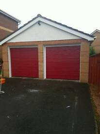 Fully fitted Insulated roller garage door