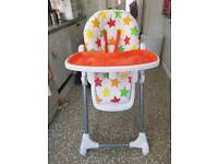 Bonito Bebe Feed Me Now Highchair £10