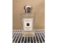 jo malone english pear and freesia cologne 100ml (minimal amount used)