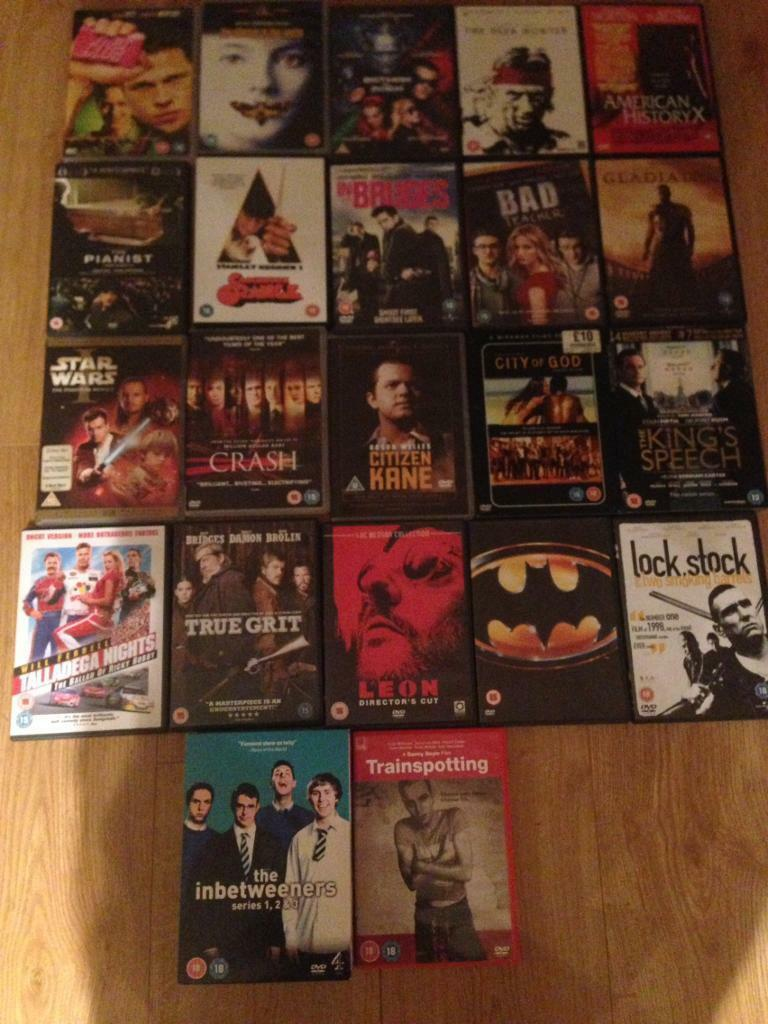 DVD job lot 18 Batman Lock Stock Star Wars and more!