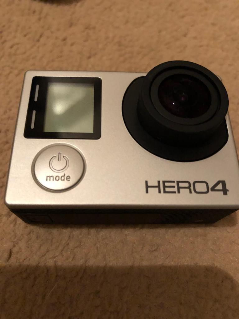 GoPro Hero 4 Silver With Accessory Pack and Micro SD Card
