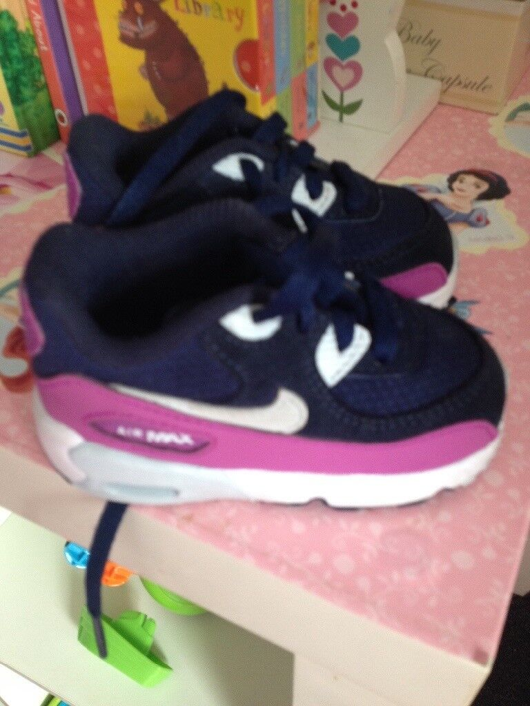 d7bfc05f2 Baby girls Nike air max trainers  baby girl shoes