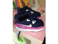 Baby girls Nike air max trainers/ baby girl shoes
