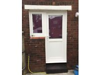 Upvc door and window
