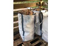 Barrow bag - firewood hardwood