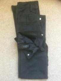 SCHOOL TROUSERS BOYS AGED 8 FROM NEXT IN EXCELLENT CONDITION