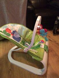 Baby bouncer used just twice