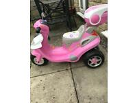 Children's Electric Ride On Scooter