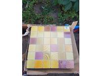 *CHEAP* Small wall coloured tiles
