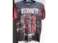 Boys Sonneti t. Shirt. Age 12-13 years