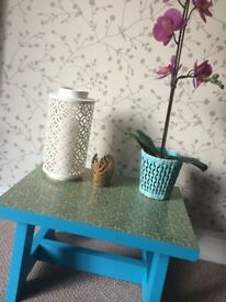Handmade Boho style occasional/side table