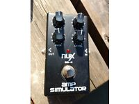 NUX AS-4 Amp Simulator - Overdrive Distortion Pedal