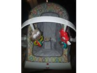 vibrating fisher price bouncer