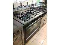 5 burner gas cooker top condition