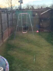 Single child swing