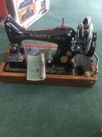 1920s singer sewing machine