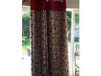 All curtains and poles half price