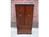 Bridgecraft Mahogany Cabinet, Hi Fi Unit, Display Cabinet, Excellent Condition, Can Deliver