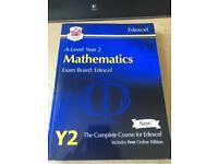 New A-Level Maths Edexcel Year 2 Course book